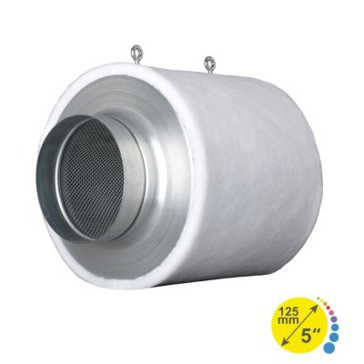 Prima Klima Industry Aktivkohlefilter, 125mm Flansch,...