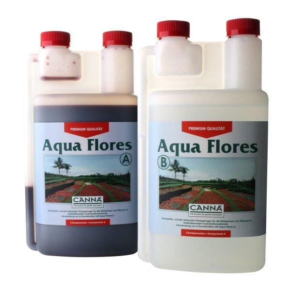 Canna Aqua Flores A+B je 1L Blütendünger für rezirkulierende Wassersysteme