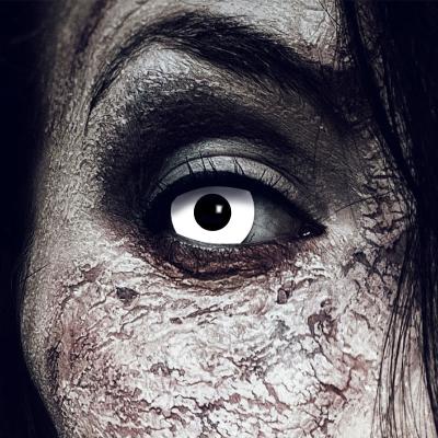 Farbig Weiß Kontaktlinsen 3 Monate White Zombie...