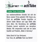 Acti Tube Pfeife aus Breyer Holz 11,5 cmunbehandelt made in Deutschland mit intergrierten Activ Kohlefilter
