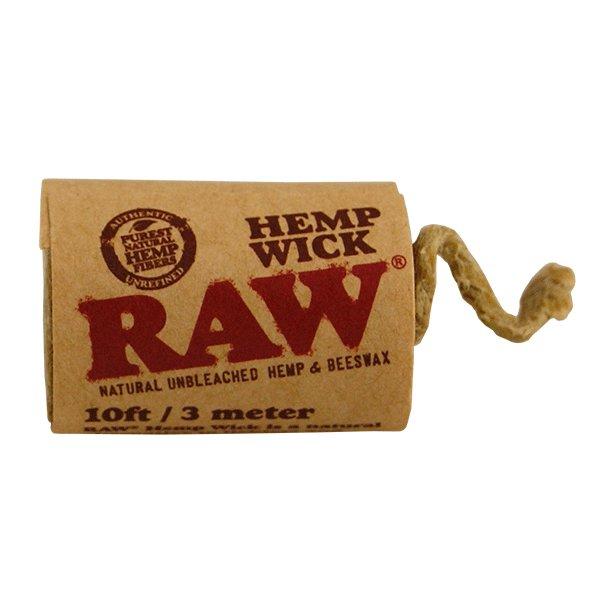 RAW-Hemp Wick-300cm