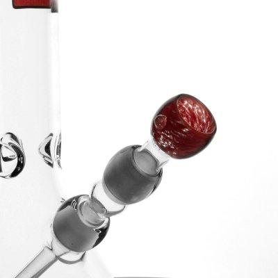 Red Bubble Bong 18,8er von Boost