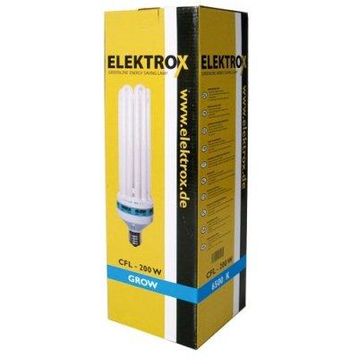 Elektrox Energiesparlampe für Wachstumsphase 200W...