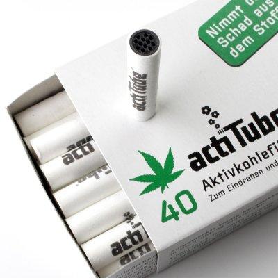 Activkohlefilter - 8 mm 40 Stk von actiTube
