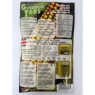 BioTabs Guerrilla Tabs 20 St organischer outdoor Pflanzendünger für alle Phasen