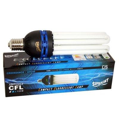 Superplant Energiesparlampe für Wachstumsphase 125W...