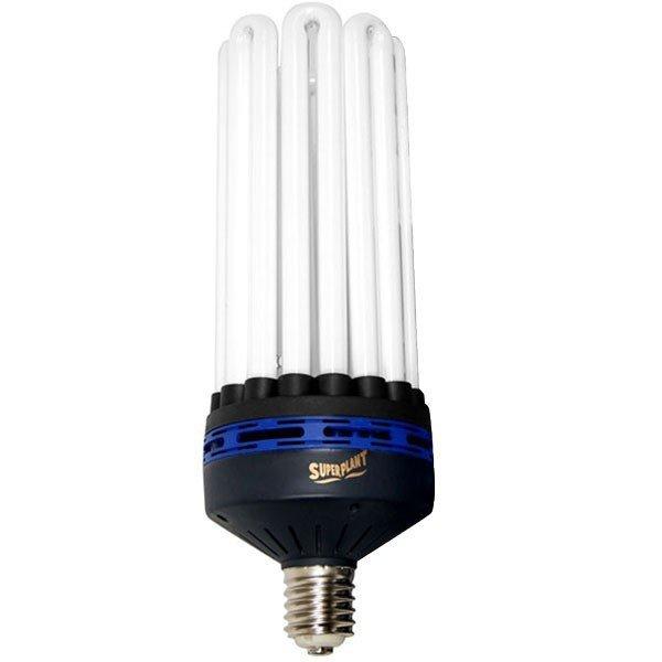 Superplant Energiesparlampe für Wachstumsphase 200W Grow 6400K