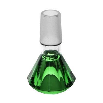 Diamant Köpfchen Grün 18,8er von Jelly Joker