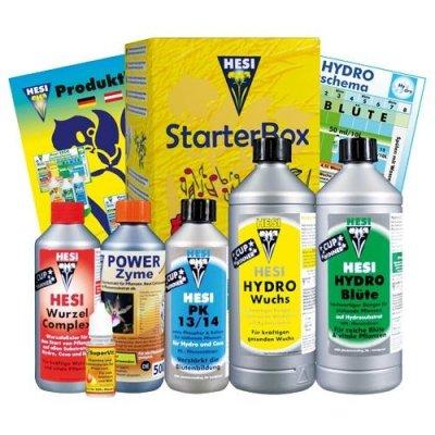 Hesi StarterBox Hydro Dünger-Set für Anbau auf...