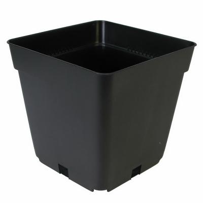 Pflanzentopf 4-eckig 1,55L schwarz