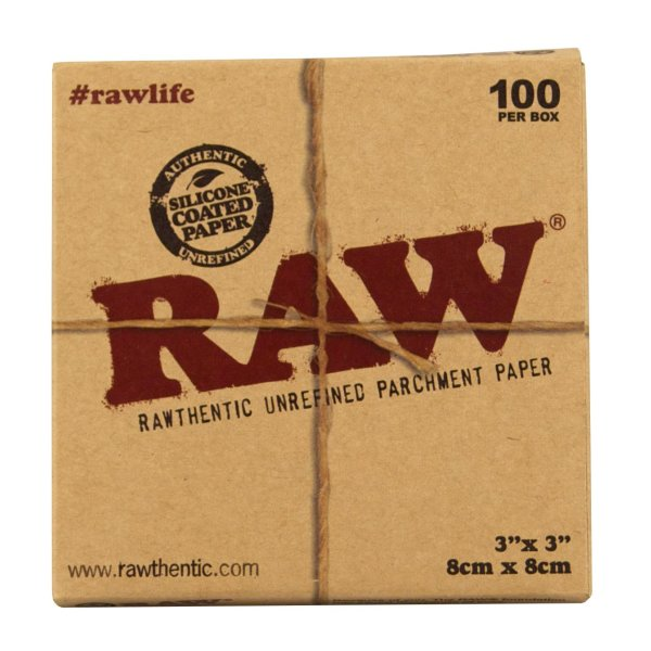 RAW-Pargament Paper square