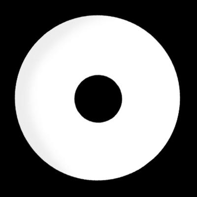 Kontaktlinsen Sclera White Zombie 6 Monate