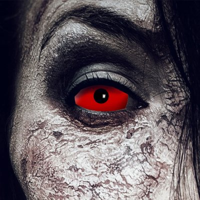 Kontaktlinsen Sclera Red Devil 6 Monate