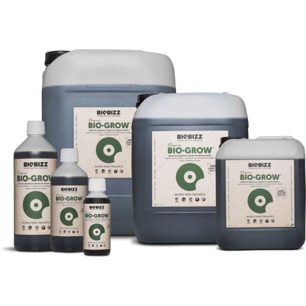 BioBizz Bio-Grow Wachstumsdünger für Erde und Coco