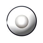 Farbig Schwarz-weiß Kontaktlinsen 1 Woche Halloween Zombie Vampir