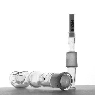 Glaspfeife für Aktivkohlefilter von Bam Bam Bhole