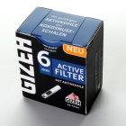 GIZEH-ACTIVE FILTER-6mm- 34er Päckchen