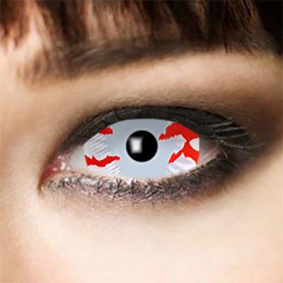 Kontaktlinsen Sclera Blood Stripe 6 Monate