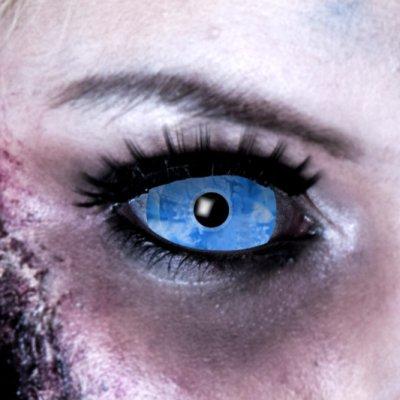 Kontaktlinsen Sclera Eiskönig 6 Monate