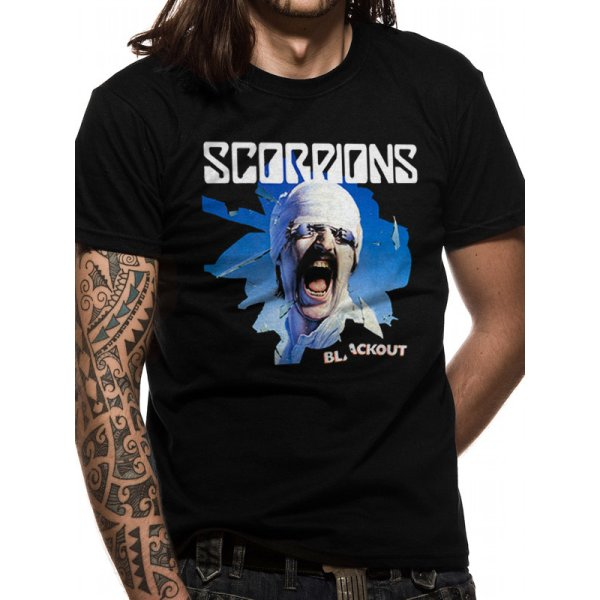 The Scorpions Shirt  Blackout schwarz