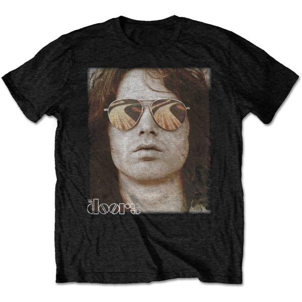 The Doors Shirt Jim Face schwarz