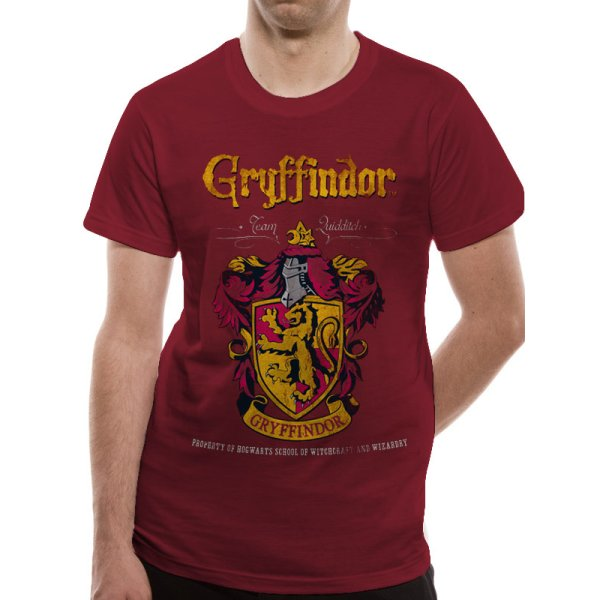 Harry Potter Shirt  Gryffindor Quidditch rot