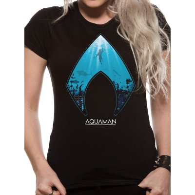 Aquaman Movie Frauenshirt  Logo and Symbol