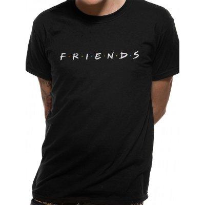 Friends Shirt  Logo schwarz
