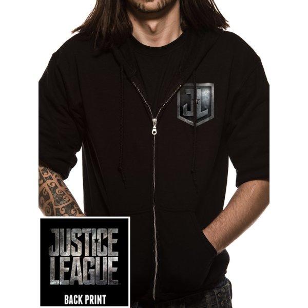 Justice League Movie Zip-Hoodie  Logo