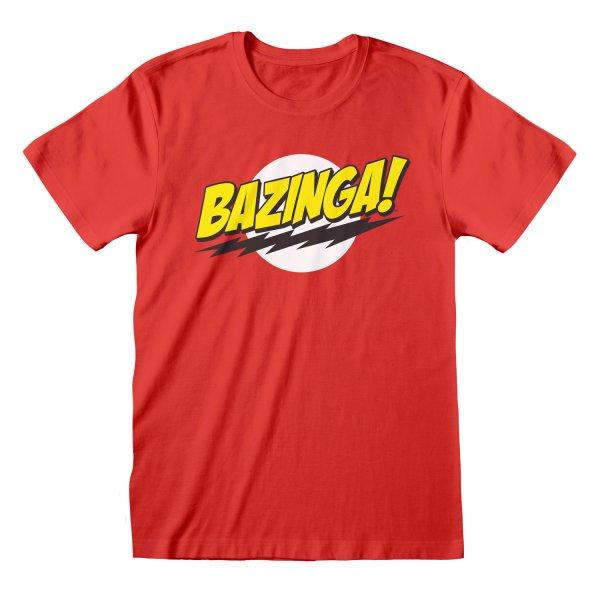 Big Bang Theory Shirt  Bazinga rot