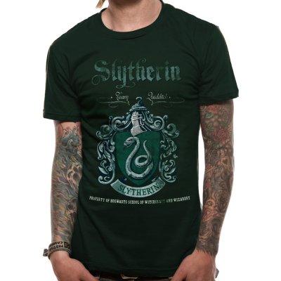 Harry Potter Shirt  Slytherin Quidditch grün