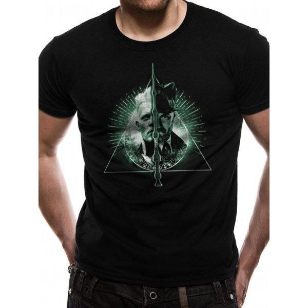 Crimes Of Grindelwald Shirt  Deathly Hallows Split schwarz