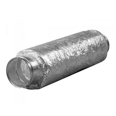 Schalldämpfer-Flexibel-125mm-500mm