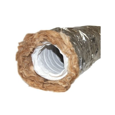 Schallgedämmtes flexibles Lüftungsrohr Rohr 3m...