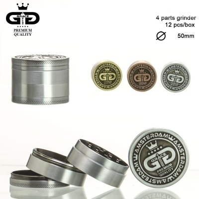 Grinder Grace Glass Amsterdam 4Part  Ø 5cm