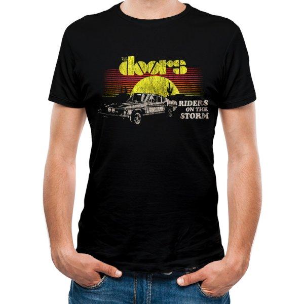 The Doors Shirt  Riders Car