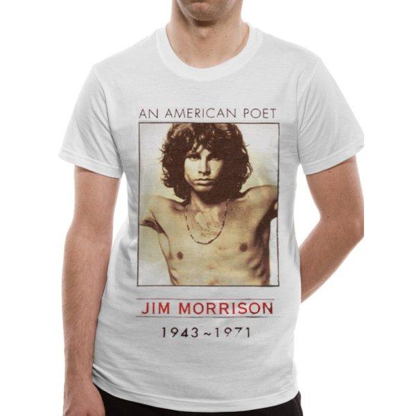 Doors Shirt  American Poet weiß