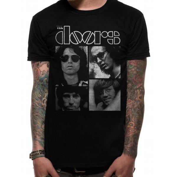 The Doors Shirt  Squares schwarz