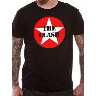 The Clash Shirt  Star Badge schwarz