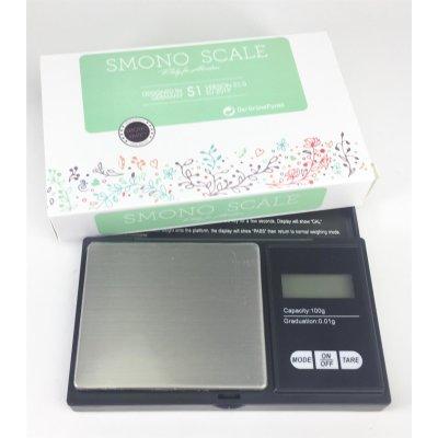 Digitalwaage 100 gr 0,01g von Smono 2AAA inclusiv