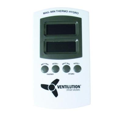 Ventilution Digitales Indoor-Hygrometer/Thermometer