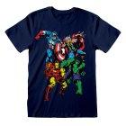 Marvel Comics Kindershirt Group Shot