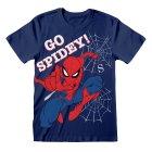 Marvel Comics Kindershirt Spiderman Go Spidey