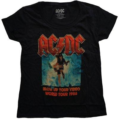 AC/DC Frauenshirt Blow up your Video
