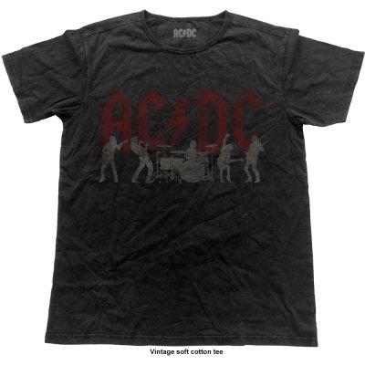 AC/DC Shirt Silhouettes Vintage