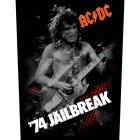 "AC/DC Backpatch ""74 Jailbreak"""