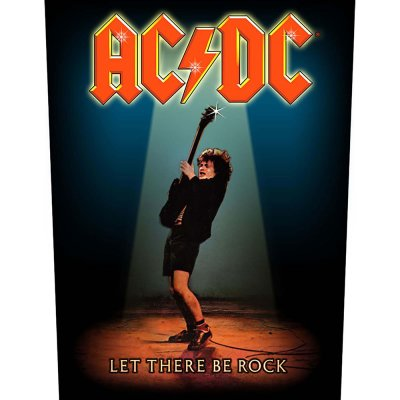 """AC/DC Backpatch """"let there be rock"""" bunt"""