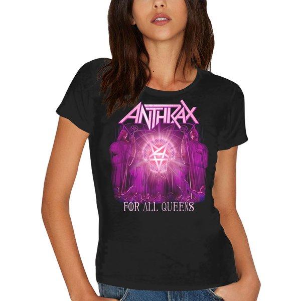 Anthrax Frauenshirt For all the Queens