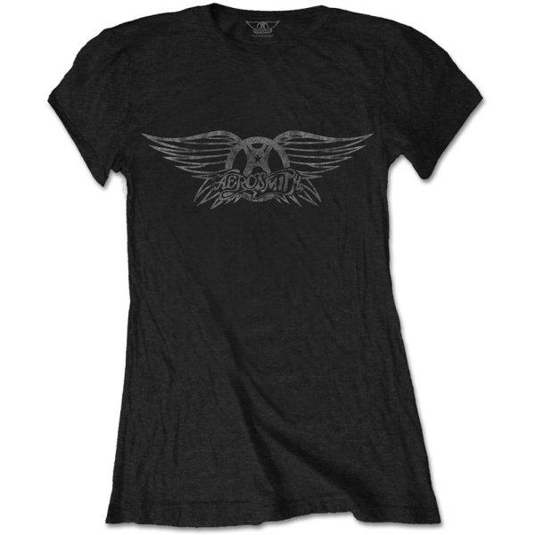 Aerosmith Frauenshirt Vintage Logo