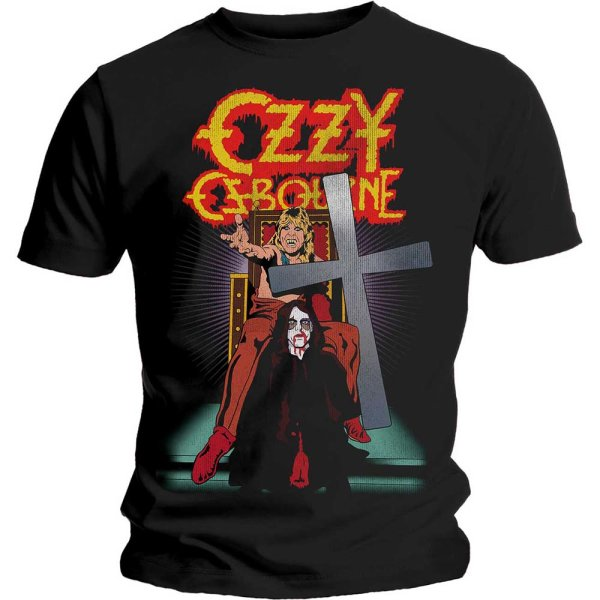 Ozzy Osbourne Shirt speak of the devil vintage